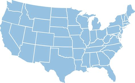 america map transparent r transparent us states map cdoovision