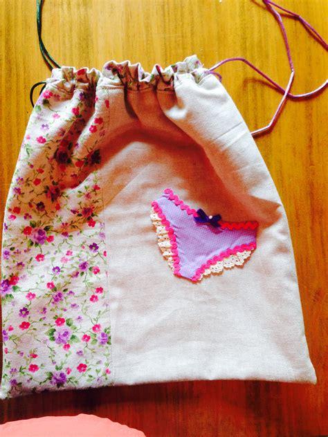 bolsas para ropa interior bolsa de tela para ropa interior costura