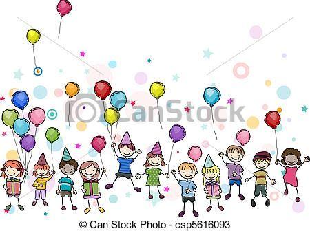 clipart compleanno bambini disegni di compleanno festa illustrazione bambini