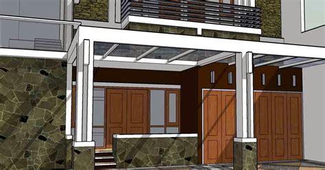 desain garasi dua mobil desain garasi minimalis desain properti indonesia