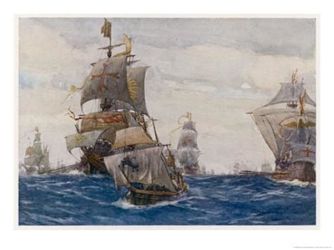 armada spagnola the armada the fleet in the bay of biscay