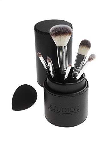 Set Makeup Brush Studio Complexion Brush complete set by studio 5 cosmetics includes 6 brushes import it all