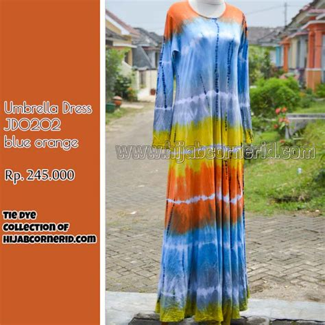 Umbrella Kulot corner id umbrella dress tie dye