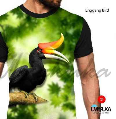 Kaos3d Fullprint Bird grosir kaos animal fp enggang bird animal kaos 3d bagus