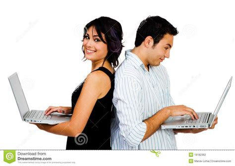 south american using laptop stock photos south american using laptop stock images alamy latin american couple using laptops stock photography image 19182362