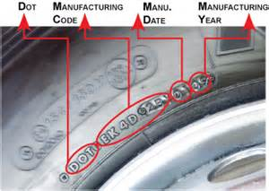Auto Tire Expiration Dates Tire Manufacture Date