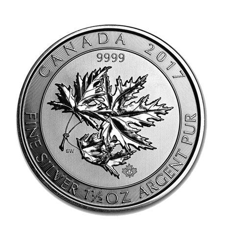 1 oz 2017 canadian maple leaf silver coin buy 2017 silver canadian maple leaf leaf 1 5 oz