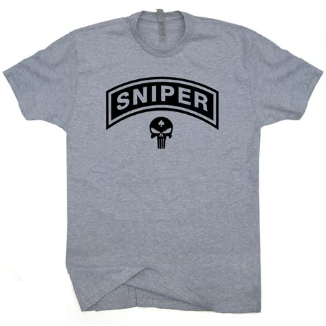 Navy Seal Snipers Tshirt marines sniper t shirts the punisher skull shirt