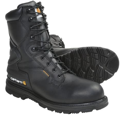 carhartt steel toe work boots carhartt tanned leather lace up work boots 8