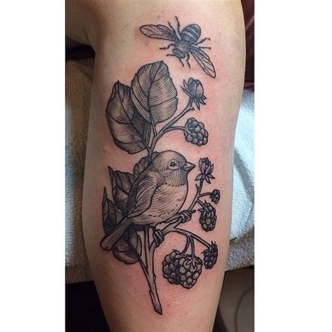 rachel hauer tattoo birds and the bees by hauer east river