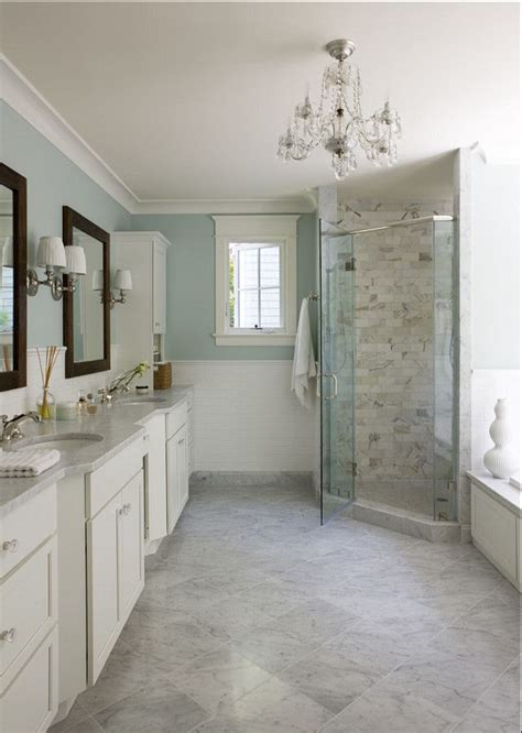 best paint color for bathroom using light blue wall paint light blue and marble bathroom interiors by color