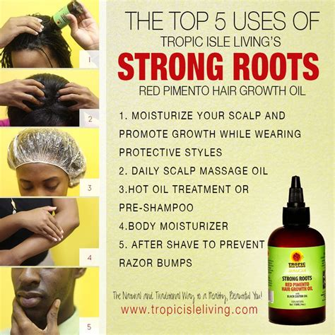strong roots hair growth oil long hair care forum 31 best tropic isle living hair care system images on