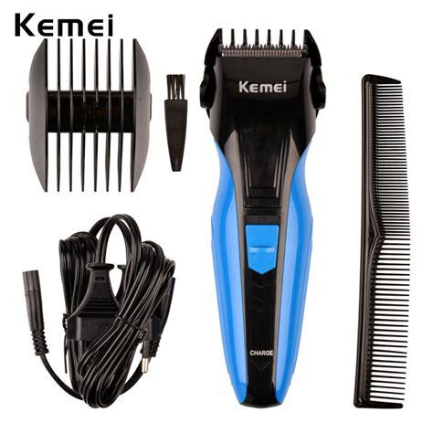 kemei ultra quiet electric hair clipper trimmer kit
