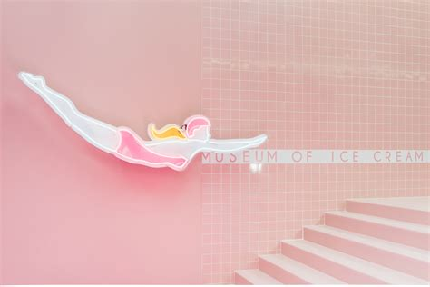 Home Office Design Youtube la s new museum of ice cream is the coolest design milk