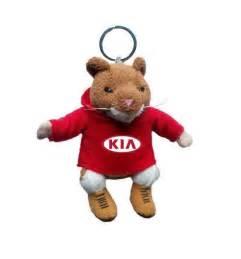 kia hamster plush keychain key chain stuffed soul