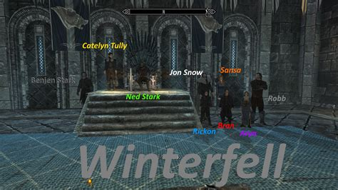mod game of thrones game of thrones replace mod at skyrim nexus mods and