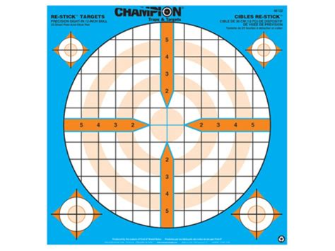 printable precision targets chion re stick precision sight in self adhesive targets