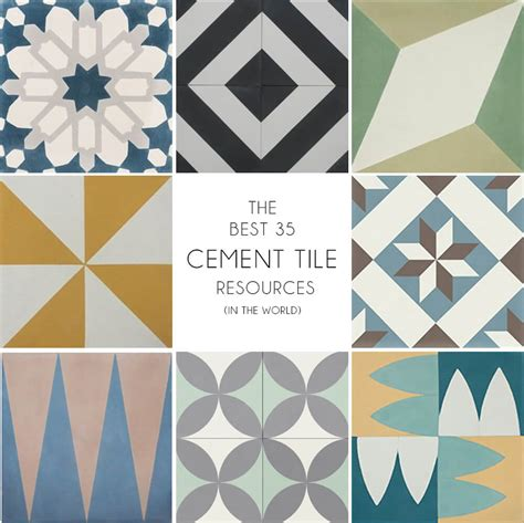 Mexican Tile Bathroom Designs by Where To Buy Cement Tiles Emily Henderson