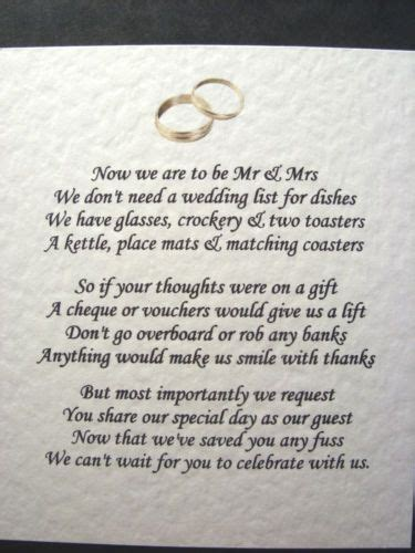 poem no xmas cards donation instead poem best 25 wedding gift poem ideas on