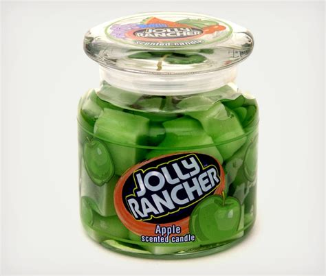 Cool Scents jolly rancher scented candles cool material