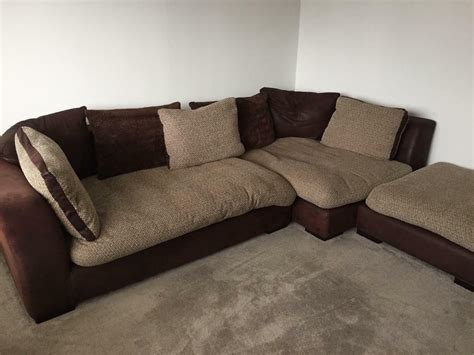Snuggle Corner Sofa by Corner Sofa Swivel Cuddle Chair And Footstool Dfs