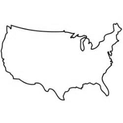 Continental Us Outline by Outline Of The Us Clipart Best