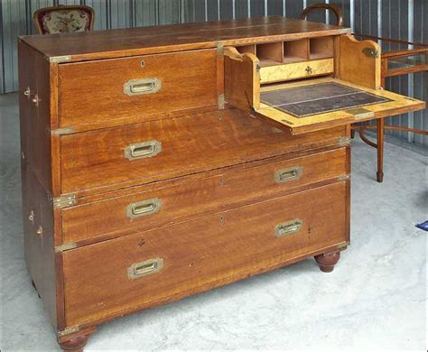 Upright Dresser by Oak Caign Chest