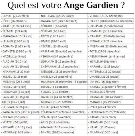 Calendrier Des Anges Gardiens Connaitre Le Nom De Ton Ange Gardien Abba Heaven