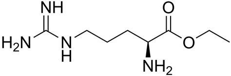 L-Arginine ethyl ester - Wikipedia L Arginine Structure
