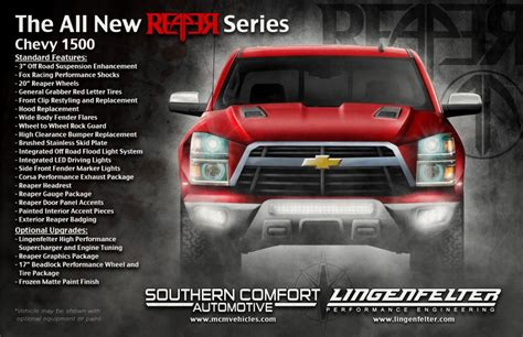 Southern Comfort Automotive by Tags 2017 Chevrolet Reaper 2017 Chevy Reaper Chevrolet