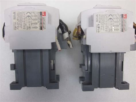 pole ls for sale lot of 2 ls mec gmd 40 3 pole contactor with ls gmc d 40