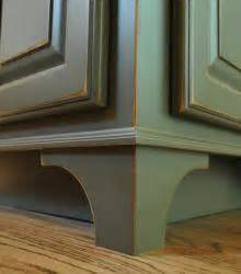 Legs to any cabinet will add some design accents to a standard cabinet