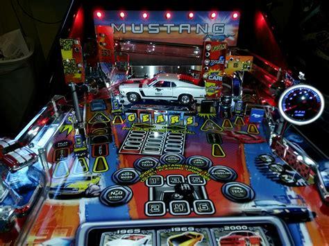 mustang pinball machine mustang pinball mod mustang tachometer pinball mod