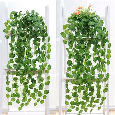 Artificial Tree For Home Decor planta artificial hera tipo trepadeira ivy pcte com 12