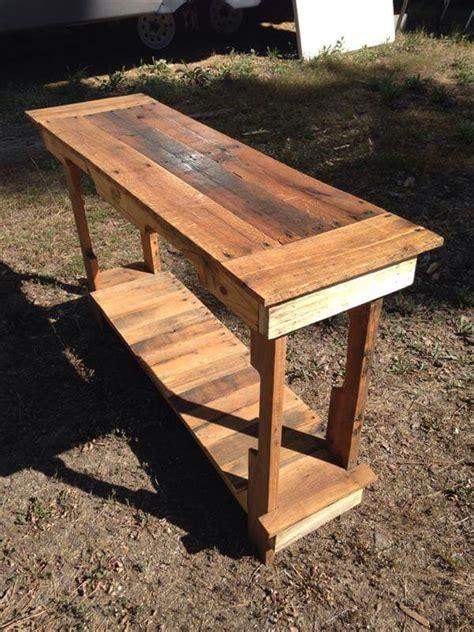 Diy Entryway Table by Diy Entryway Table Pallet Furniture Diy