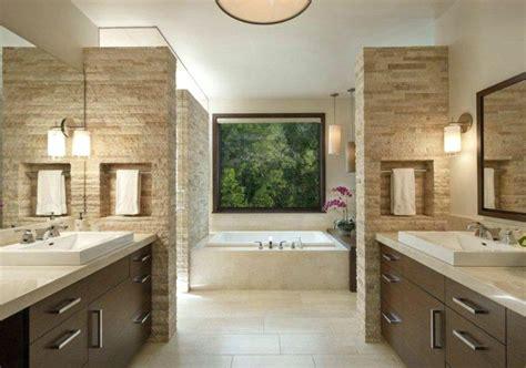 badezimmer ideen steinwand travertin badezimmer die schanheit der tivoli stein haus