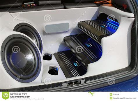 car audio system royalty free stock photos image 7108558