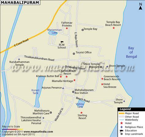 mahabalipuram city map
