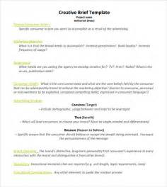 copy brief template creative brief template 8 documents in pdf