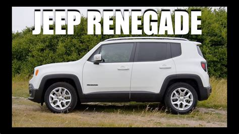 jeep renegade test jeep renegade eng test drive and review
