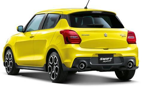 2019 Suzuki Sport Specs by 2019 New Suzuki Sport Specs Release Date