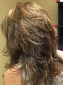 unde layer of hair cut shorter long layered haircuts back view medium length layered