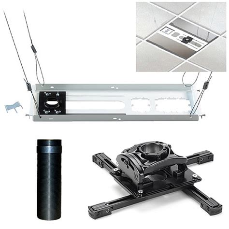 Ceiling Mount Kit For Projectors chief kitez006 projector ceiling mount kit