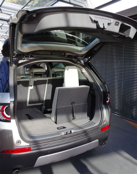 land rover discovery sport trunk space 2014 paris motorshow first world presentation land