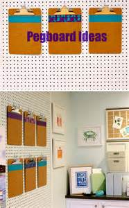 pegboard ideas pegboard ideas get organized bright bold and beautiful