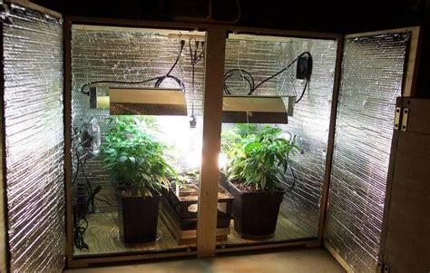 como fabricar  plantear  armario de cultivo  cannabis