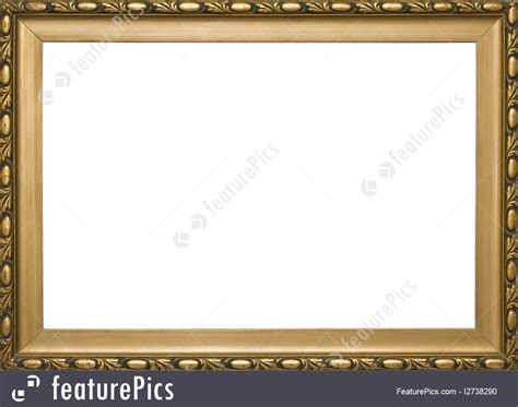 House Plan Creator House Decor Wooden Golden Classic Frame Stock Image