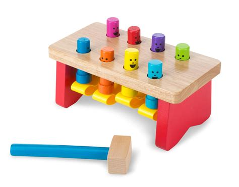 Toddler Toys - doug deluxe pounding bench