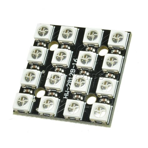 16 Bits 5050 Rgb Module By Isee 16bit rgb 4x4 led ws2812b 5050 rgb led integrated