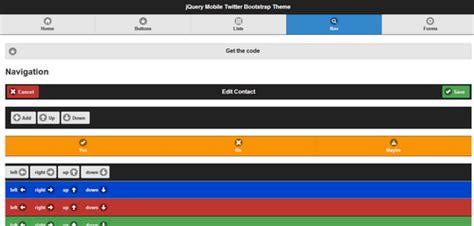 jquerymobile template top 3 g 233 n 233 rateurs de template jquery mobile webpassion360